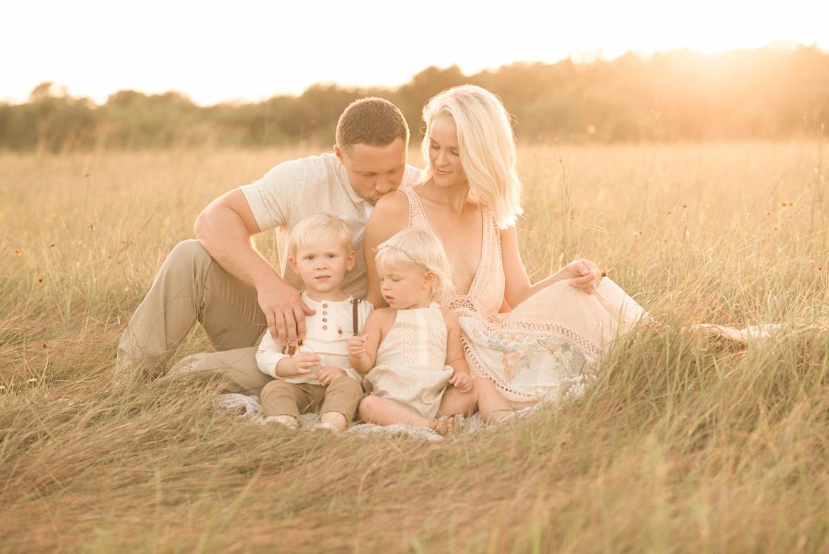family photo session houston