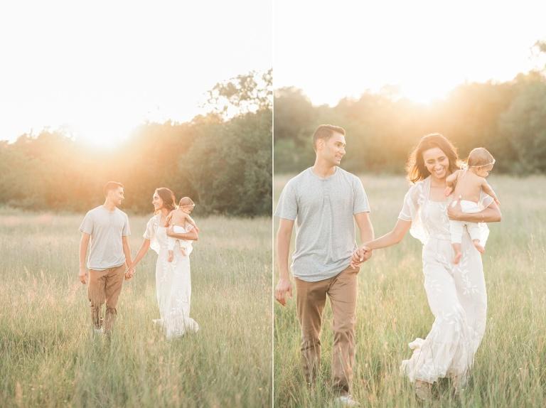 houston outdoor family portraits