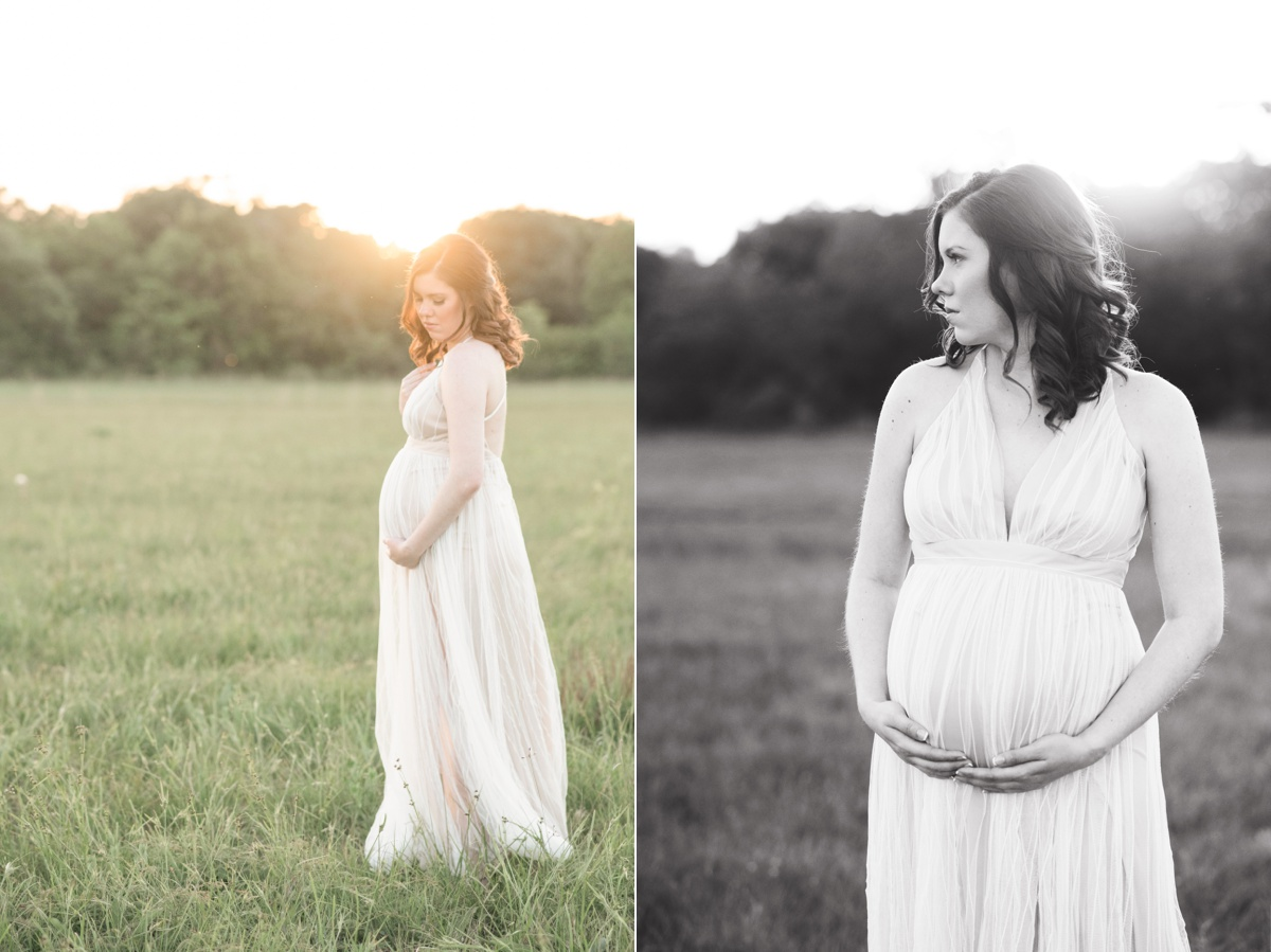 natural light maternity photographer houston