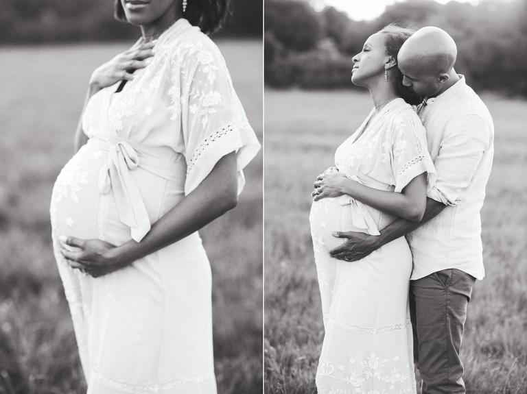 houston maternity photo session