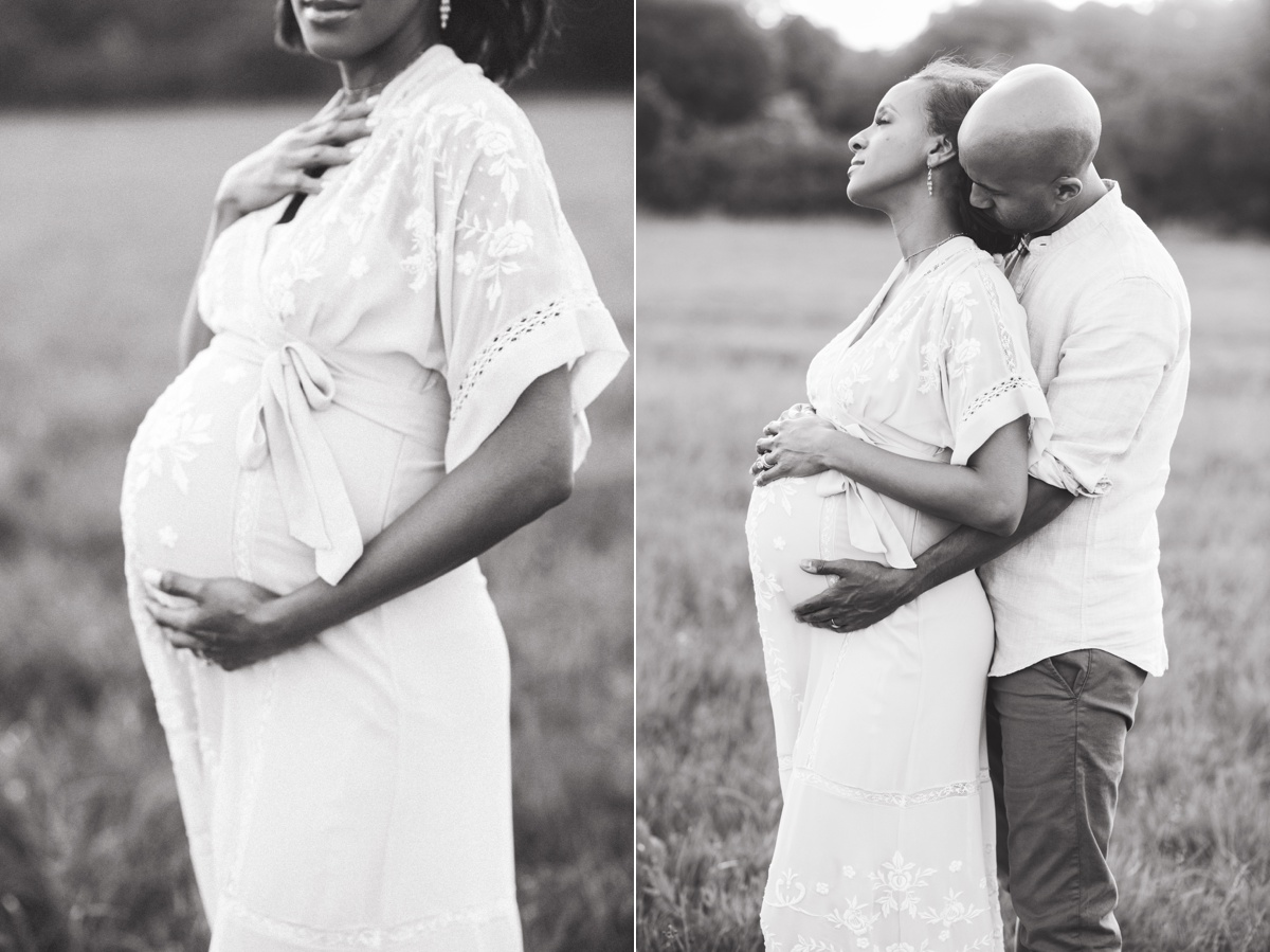 houston maternity photo session