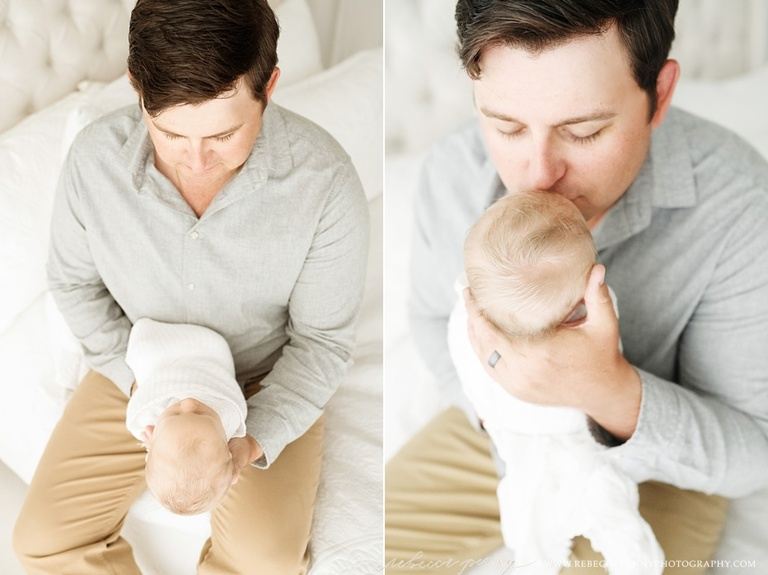 studio newborn photography houston